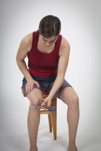 Knie-Markierung